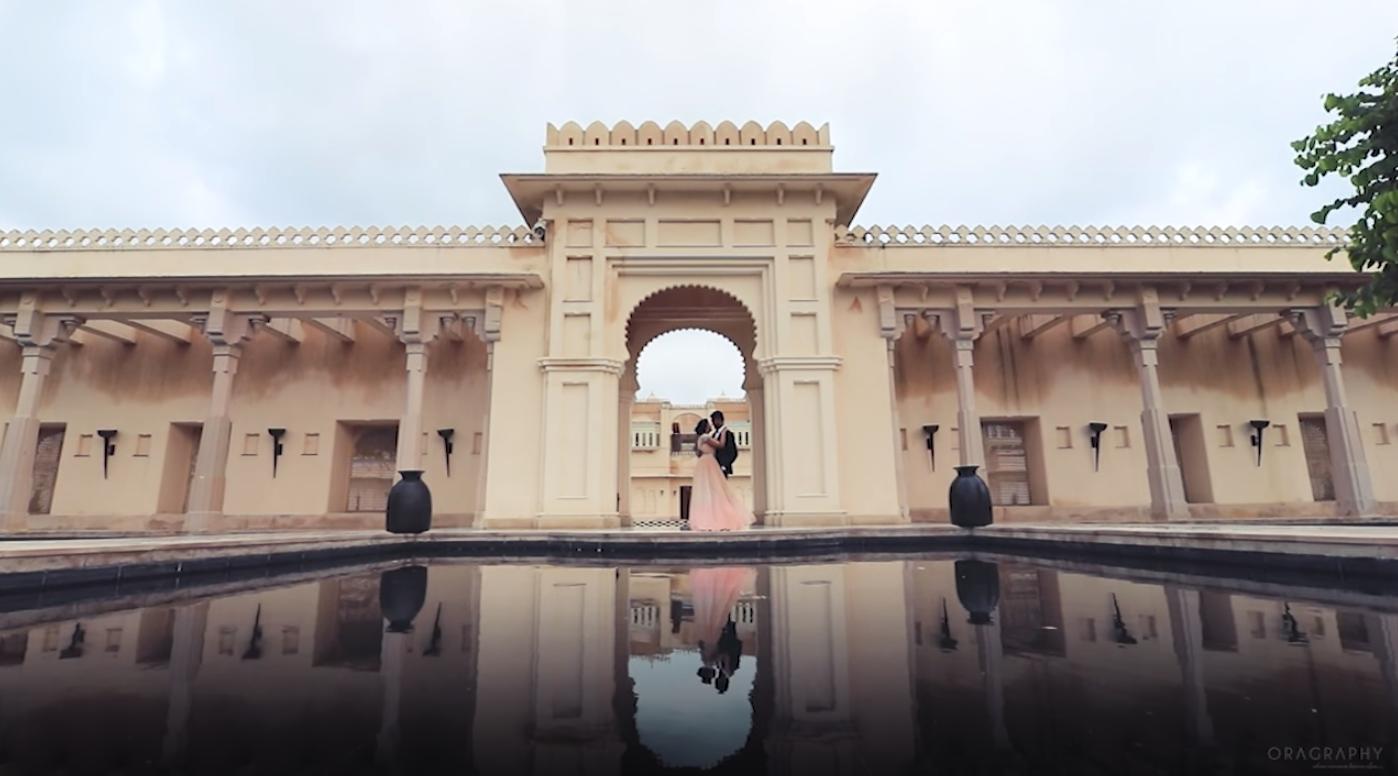 Khyavik | Pre wedding | Uday-vilas | oragraphy