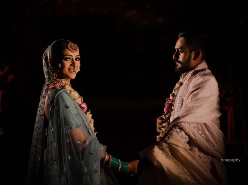 Stiched in love | Zinal weds Aditya | Designer Wedding