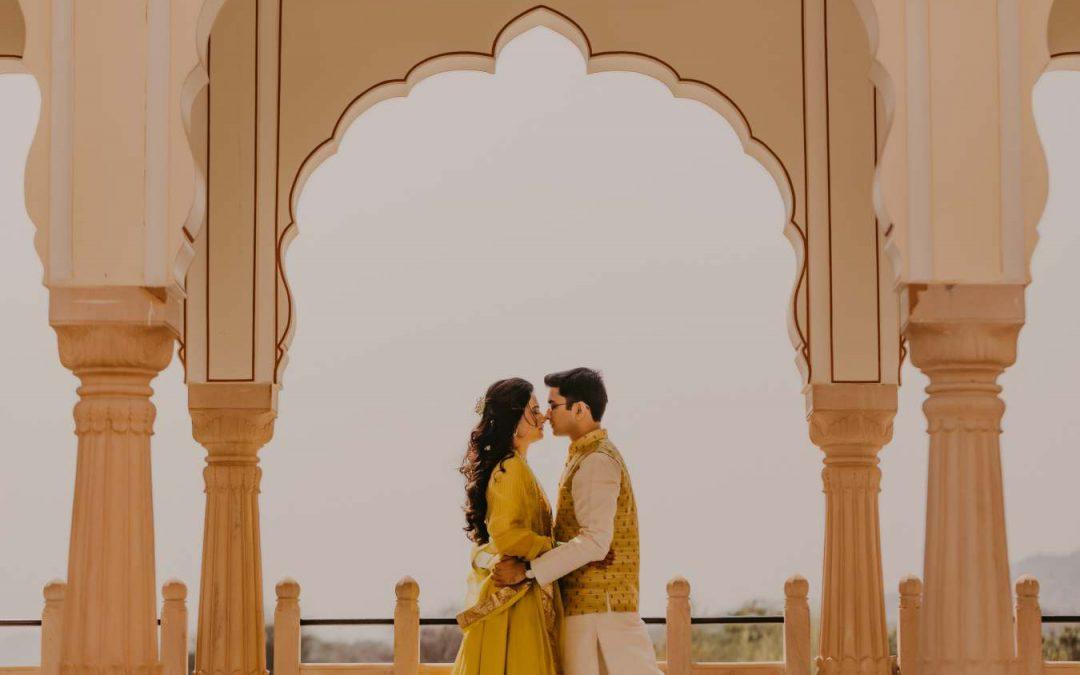 Riya weds Nishant | Jaibagh Palace Jaipur